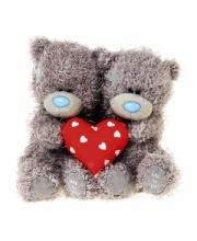 Мишка Тедди 2 шт 10 см с сердцем Me to You