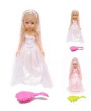 Кукла Невеста с расческой в ассортименте DOLL&ME