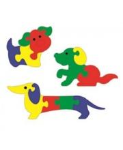 Мозаика Мини собачки 3 шт в ассортименте Флексика