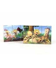 Кубики Майя и ее друзья 6 шт Пчелка Майя