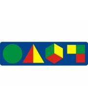 Мозаика с геометрическими фигурами в ассортименте Флексика