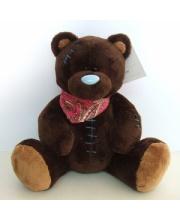 Медведь Шоколадка 20 см SONATA style