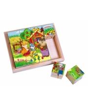 Кубики Сказки-2 12 шт в ассортименте Затейники