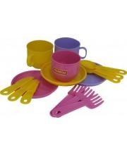 Набор детской посуды Минутка на 3 персоны в ассортименте Полесье