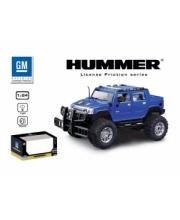 Машина 1:24 HUMMER H2 SUT инерционная со светом GK