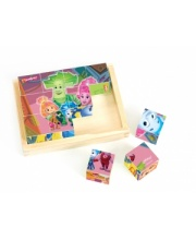 Кубики Фиксики 12 шт S+S Toys