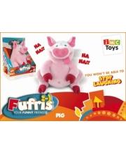Свинка Забавные друзья с батарейками IMC Toys