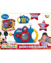 Фотоаппарат Mickey Mouse со светом и звуком IMC Toys