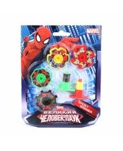 Волчок Человек-паук 4шт Xcel