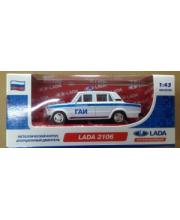 Машина 1:43 LADA 2106 инерционная металлическая Carline