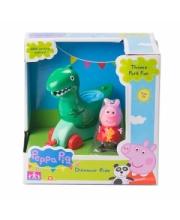 Игровой набор Каталка Динозавр с фигурками Peppa Pig