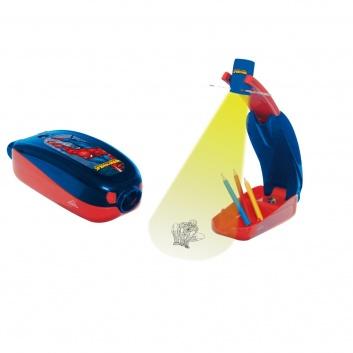 Любимые герои, Мультпроектор Spider Man с карандашами на батарейках IMC Toys 245427, фото