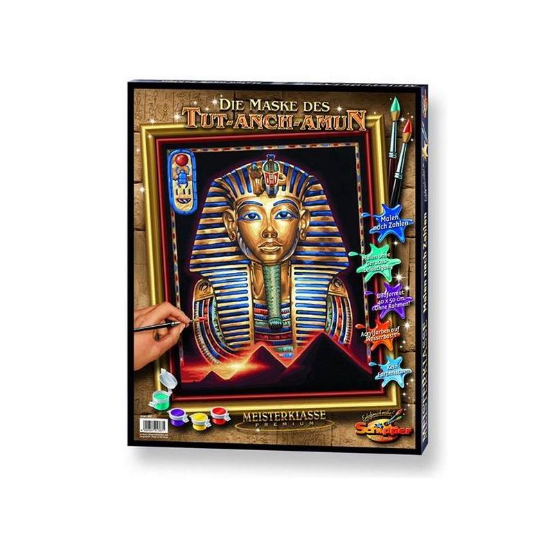 Schipper Картина по номерам Маска Тутанхамона картины в квартиру картина etude 2 102х130 см