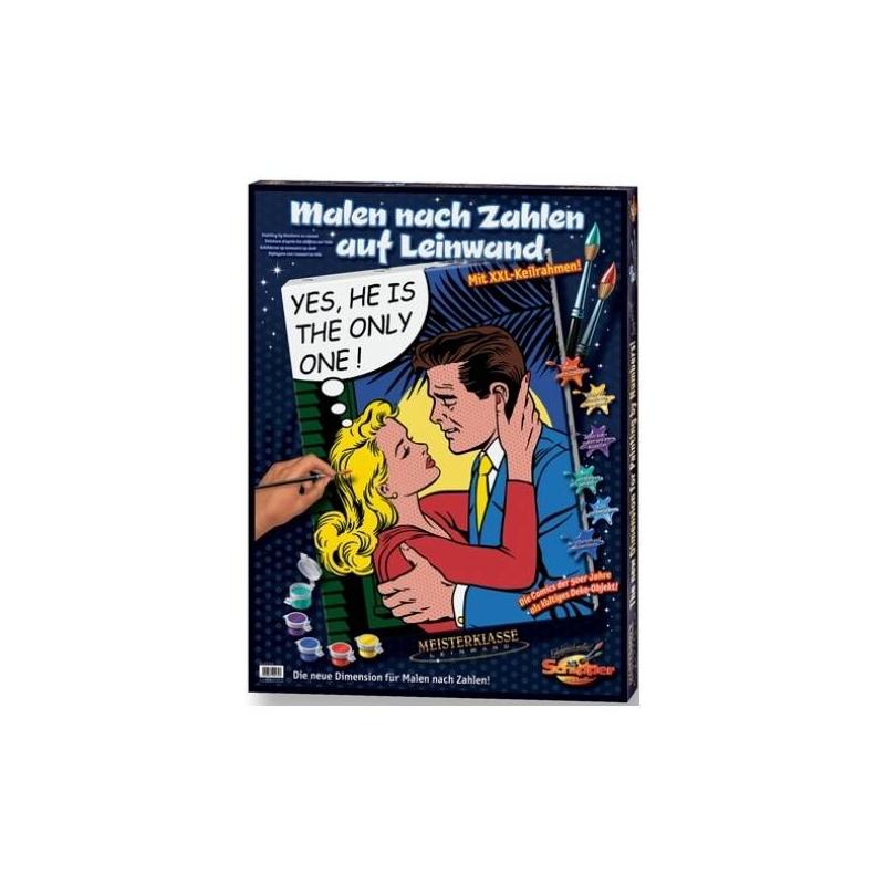 Картина по номерам Единственный (холст)Картина по номерам Единственный на холсте немецкой марки Schipper.Раскраска Единственный идет в комплекте с картиной-заготовкой и пронумерованными красками.Это особая технология, которая позволяет создавать замечательные картины.Раскраска увлечет и детей, и взрослых, а в результате вы получите восхитительную картинув стиле комиксов, которойможно украсить любой интерьер. Раскраска по номерам хорошо развивает творческие способности, внимательность, аккуратность у ребенка.<br>В наборе вы найдете: холст-заготовку, баночки с акриловой краской (11 шт.), кисточку, черновой лист для пробы, инструкцию.<br>Размер картины: 60х80 см.<br><br>Возраст от: 8 лет<br>Пол: Не указан<br>Артикул: 632667<br>Бренд: Германия<br>Размер: от 8 лет