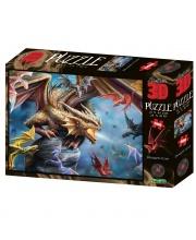 Стерео пазл Клан дракона 500 деталей Prime 3D