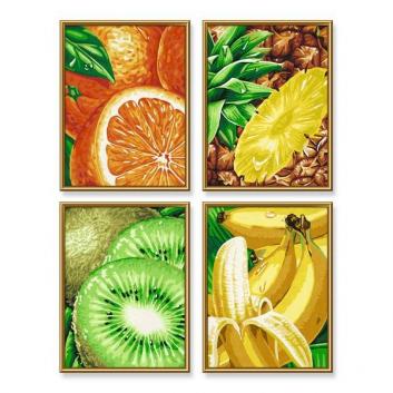 Картина по номерам Тропические фрукты