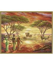 Картина по номерам Африка
