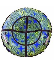 Санки надувные Тюбинг RT Калейдоскоп диаметр 110см RT