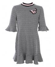 Платье с воланами Choupette