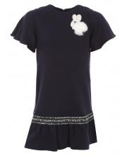 Платье трикотажное с воланами Choupette