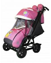 Санки-коляска Snow Galaxy City-2 Мишка +сумка+варежки