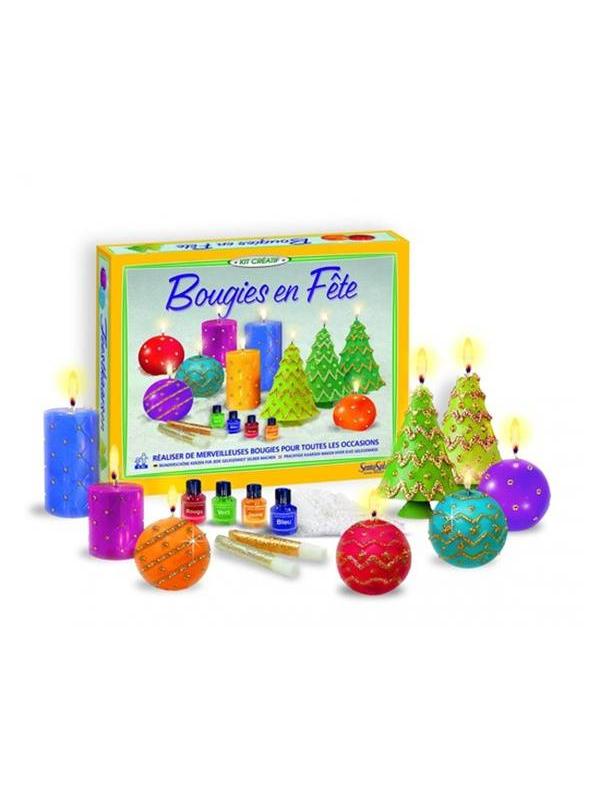 Набор для творчества Праздничные свечи SentoSphere