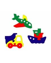 Мозаика мини-фигурки Транспорт 3 шт в ассортименте Флексика