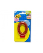 Свеча цифра 0 Блестящая S+S Toys
