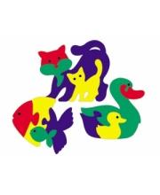 Мозаика Фигурки животных 3шт в ассортименте Флексика