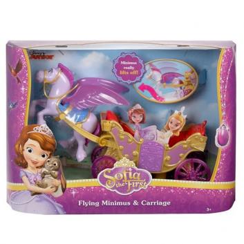 Игрушки, Набор игровой Минимус и волшебная карета Mattel , фото