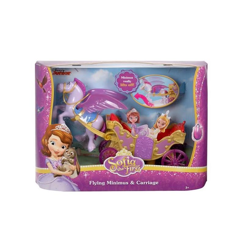 Купить Конь Минимус и волшебная карета, Mattel, от 3 лет, Для девочки, 635176, Китай