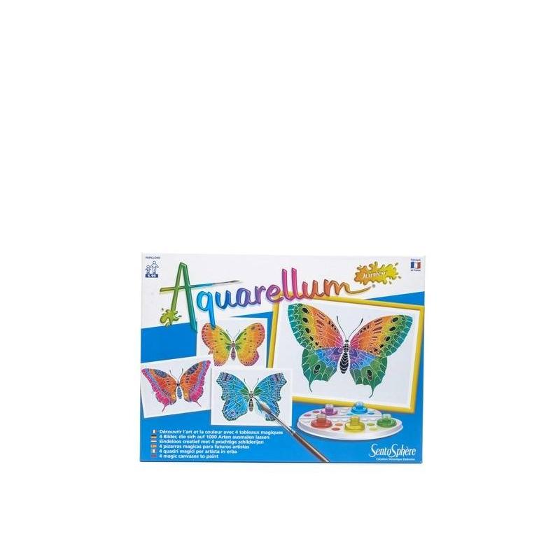 SentoSphere Раскраска Бабочка акварельная раскраска лошади sentosphere