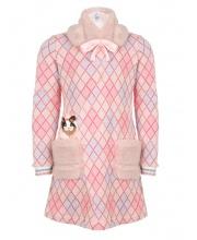 Платье с меховым воротником Choupette