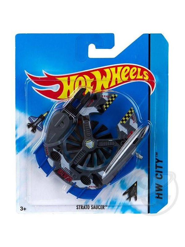 Самолет Hot Wheels Strato Saucer Mattel