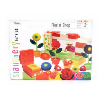 Набор для лепки STATIONERY FOR KIDS Цветочный магазин 391-13