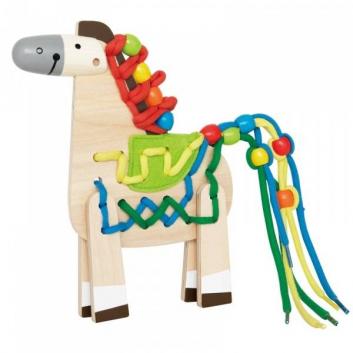 Игрушка деревянная Hape Лошадка Е1016