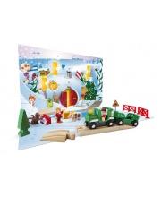 Рождественский Календарь 2019 24 элемента BRIO