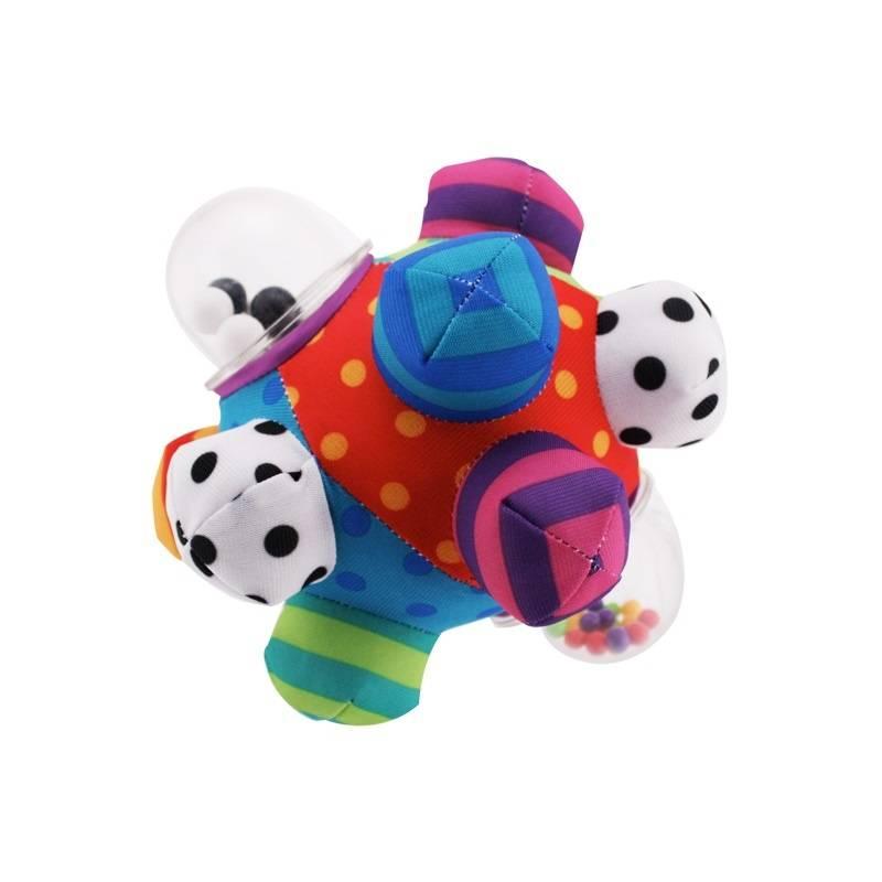 Sassy Мягкий мяч-погремушка