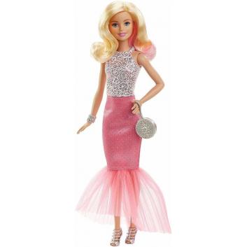 Кукла Barbie в вечернем платье-трансформере