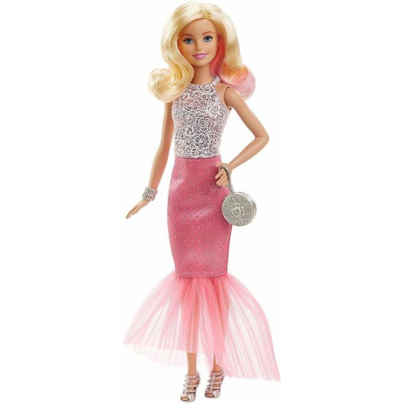 Mattel Кукла Barbie в вечернем платье-трансформере кукла barbie городской блеск длинные светлые волосы черная куртка