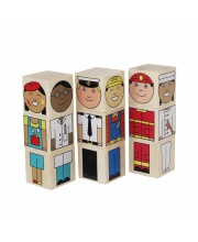 Кубики Профессии Краснокамская игрушка