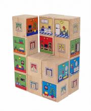 Кубики Квартиры Краснокамская игрушка