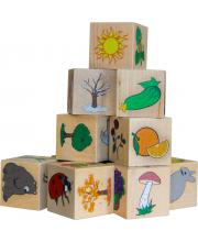 Кубики Окружающий мир Краснокамская игрушка