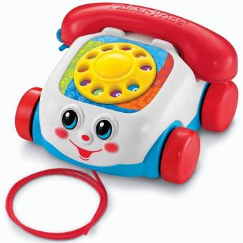 Игрушка Говорящий телефон на колесах Fisher-Price
