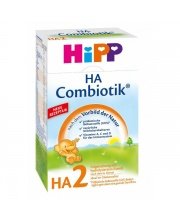 Сухая молочная гипоаллергенная смесь HA Combiotic 2 с 6 мес 500 гр