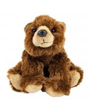 Мягкая игрушка Бурый медведь 18 см Wild republic