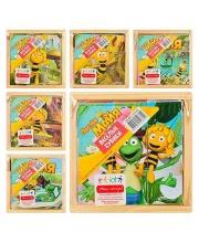 Кубики Пчелка Майя 9 штук