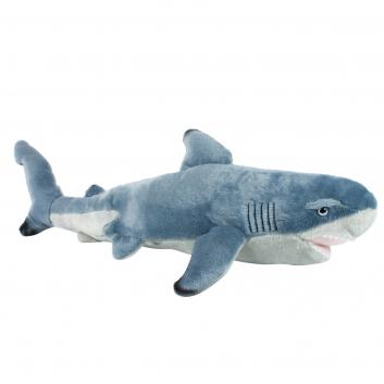 Игрушки, Мягкая игрушка Чернопёрая акула 55 см Wild republic (серый)325782, фото