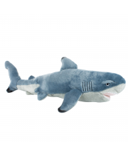 Мягкая игрушка Чернопёрая акула 55 см