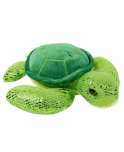 Мягкая игрушка Зеленая черепаха 21 см Wild republic